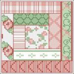 Borduurpatroon patchwork 2 FreeBee PDF download