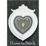 Borduurpatroon Kleintje Hart Stitch