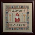 Borduurpatroon Sinterklaas