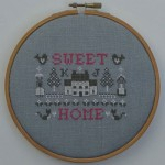 Borduurpatroon Sweet Home