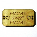 Knoop Bordje Home sweet home BLD014