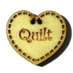 Knoop Hartje Quilt BLC023