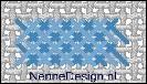 borduursteken dubbele flanelsteken voorbeeld