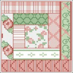 Borduurpatroon patchwork 2 FreeBee PDF download