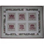 Borduurpatroon Homes Sweet Homes Quilt