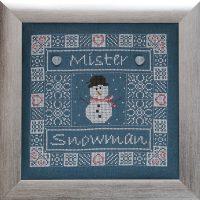 Borduurpatroon Mister Snowman