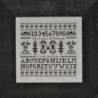 Borduurpatroon Sampler Blessings