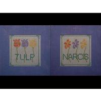 Borduurpatroon Tulp Narcis