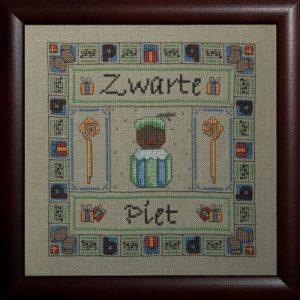 Borduurpatroon Zwarte Piet