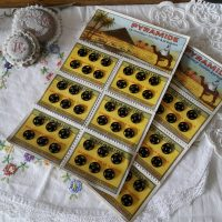 Drukknopen kaarten Pyramide