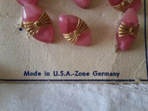 Knopenkaart USA zone Germany 1a